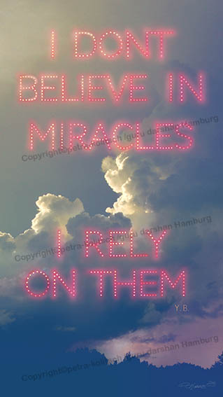Poster: I don't believe in miracles